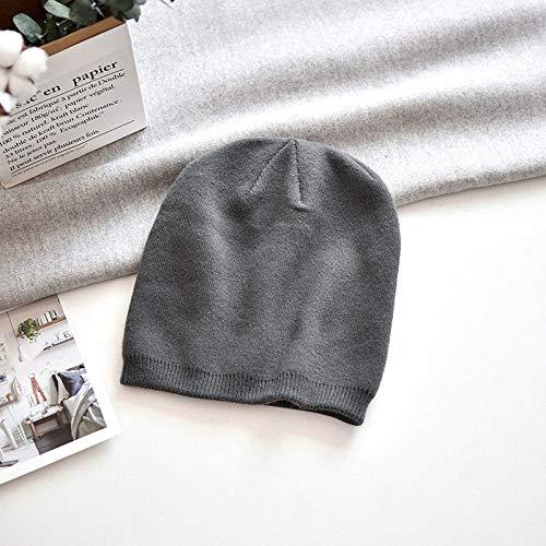 Sombrero De Invierno Para Mujer,Vintage Moda Hip Hop Casual Tejido Cálido Invierno...