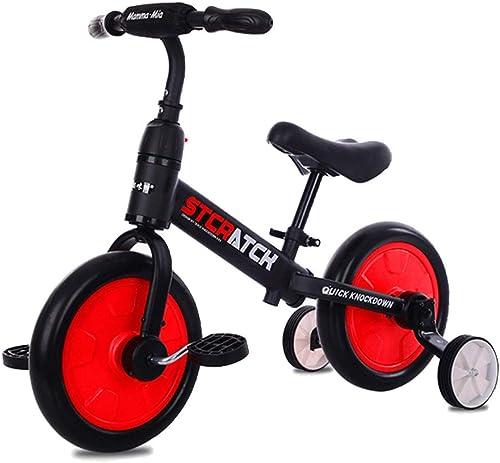 GRXXX Kinder Balance Auto Rutsche fürrad ZWeißn-One-Rutsche Auto Roller ohne Pedal ZWeiß r 12 Zoll,rot-OneGröße
