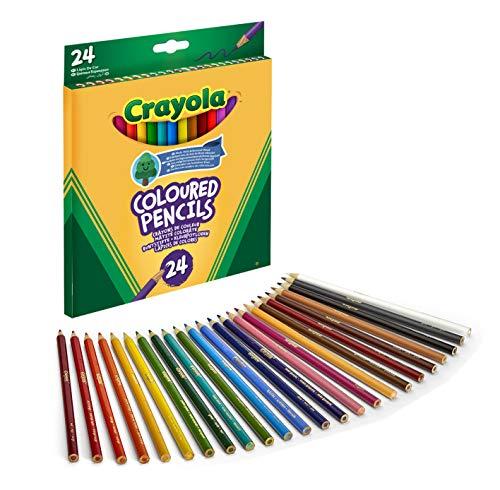 CRAYOLA - 24 Lápices De Colores (3624)