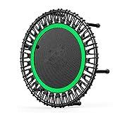 POLINEZX 40-Zoll-Multifunktions-Trampolin Fitness Ohne Lärm Trampolin Mit 500 Kg Für Fitness...