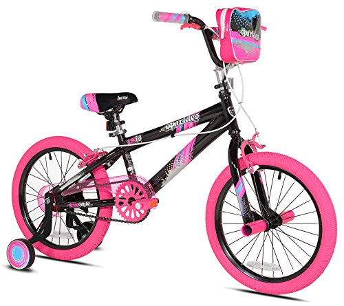 Kent 18u0022 Sparkles Girls Bike, Black/Pink