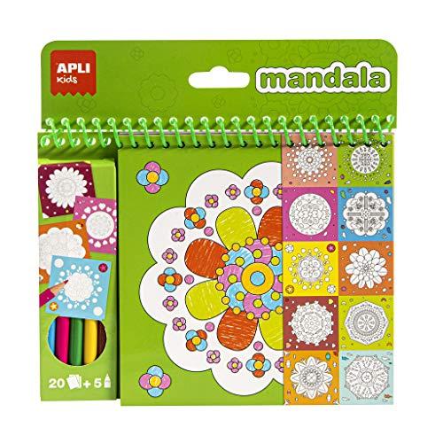 APLI Kids 17151 - Bloc pinta y colorea Mandala
