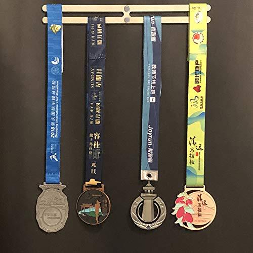 ZHXY Medallero Colgador de medallas Medal Hanger Medal Rack Continue Running Runner s Medal Hanger Medal Display Stand Trophy Holder para Maratón,Correr,Carrera,medallas Deportivas