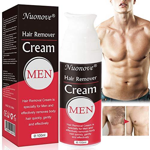 Hair Removal Cream, Crema Depilatoria, Crema Depilatoria Hombre, Bikini, Antebrazo, Depilacion hombre, deja la piel suave, Extra Suave Hecha Para Hombres, 100ml