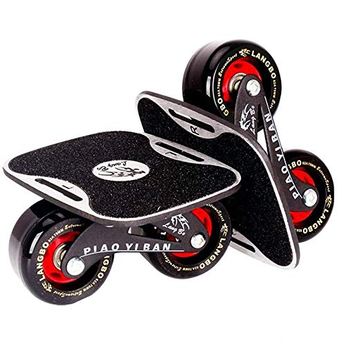 Sumeber Drift Skates Split Skateboard Tragbares Rollschuhdeck Drift High Rebound Skate Outdoor Sliding Teenager Erwachsene Geburtstagsgeschenk