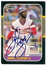 Daryl Boston autographed baseball card (Chicago White Sox) 1987 Donruss No.137