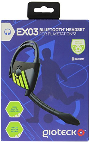 Gioteck bluetooth mono headset sports EX-03 PS3