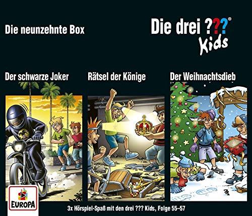 Die drei ??? Kids 19. /3er Box Folgen 55 - 57 (3 AudioCDs)