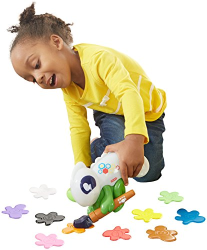 A chameleon that helps her learn is a cute STEM birthday gift ideas for a 4 year old girl.
