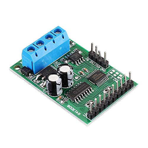 MING-MCZ Duradero Módulo 8Channel DC 6-24V RS485 Modbus RTU Control UART relé Tablero de Interruptor PLC 10pcs Fácil de Montar