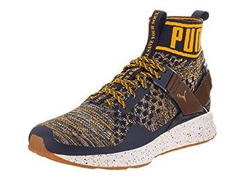 Puma Ignite evoKnit BHM Men US 10.5 Blue Fashion Sneakers