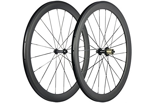 WINDBREAK BIKE 38/50/60/88mm Carbon Wheelset 700c Clincher 23mm Wheel UD Matte Finish (50mm/23mm)