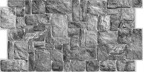 Paneles 3D de PVC – Medidas 973 x 492 mm – Paquete de 10 unidades – Aplicación fácil – Ideal para decorar el interior de casa – Panello – Cód. 9925