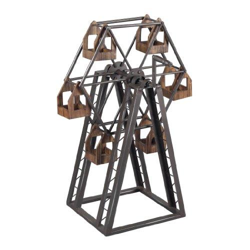 Sterling Bradworth Industrial Ferris Wheel Candle Holder