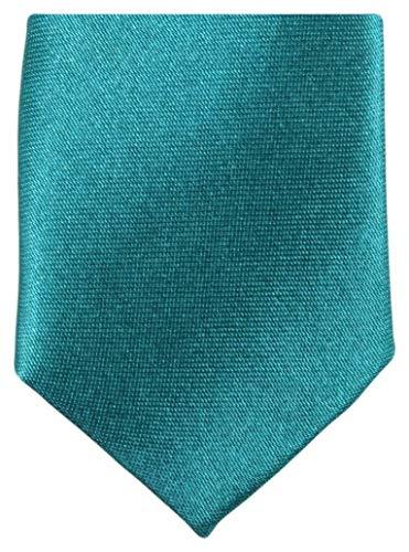 Knightsbridge Neckwear -  Cravatta - Tinta unita - Uomo Blue Taglia unica
