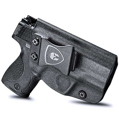 M&P Shield 9mm Holster, IWB KYDEX Holster Fit: S&W M&P...