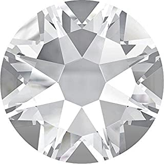 2000, 2058 & 2088 Swarovski Flatback Crystals Non Hotfix Crystal | SS3 (1.4mm) - Pack of 100 | Small & Wholesale Packs