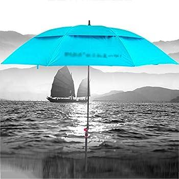 L&WB Parasol Portable, incliné, Isolation Thermique, Fonction Anti-Violette, couramment utilisé dans Les Jardins, Les plages, la pêche Indispensable