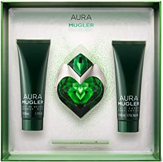 Thierry Mugler Thierry Mugler Aura 3 Piece Set - EDP 30ml + Body Lotion 50ml + Shower Milk 50ml, 3 count