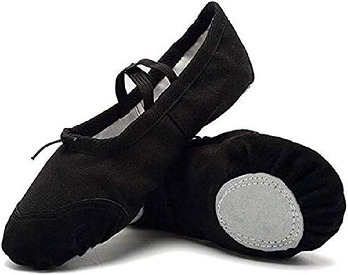 BININBOX Girl's Canvas All stores are sold Store Ballet Dance Yoga Shoes Toe Pointe