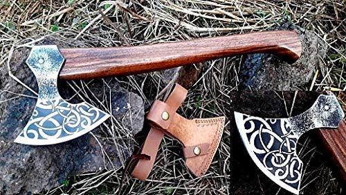 viking axe clipart, viking axe image, engraved axe, MDM VINTAGE TOMAHAWK BEARDED AXE HAND FORGED VIKING STYLE HATCHET COMBAT AXE THE ORIGINAL WAS INSCRIBED HATCHET BEARDED WALNUT WOOD AXE
