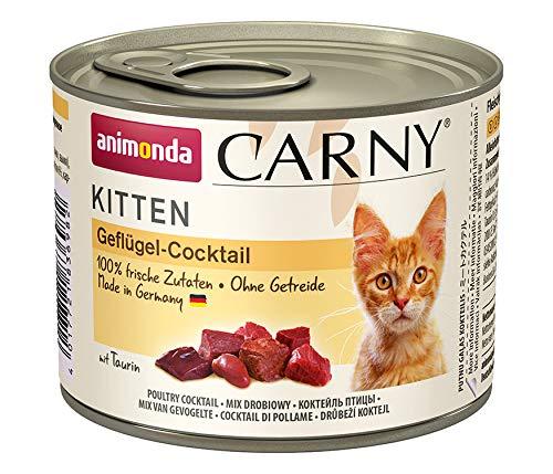 Animonda Carny Kitten Lot de 6 boîtes de pâtée pour Chat 6 x 200 g