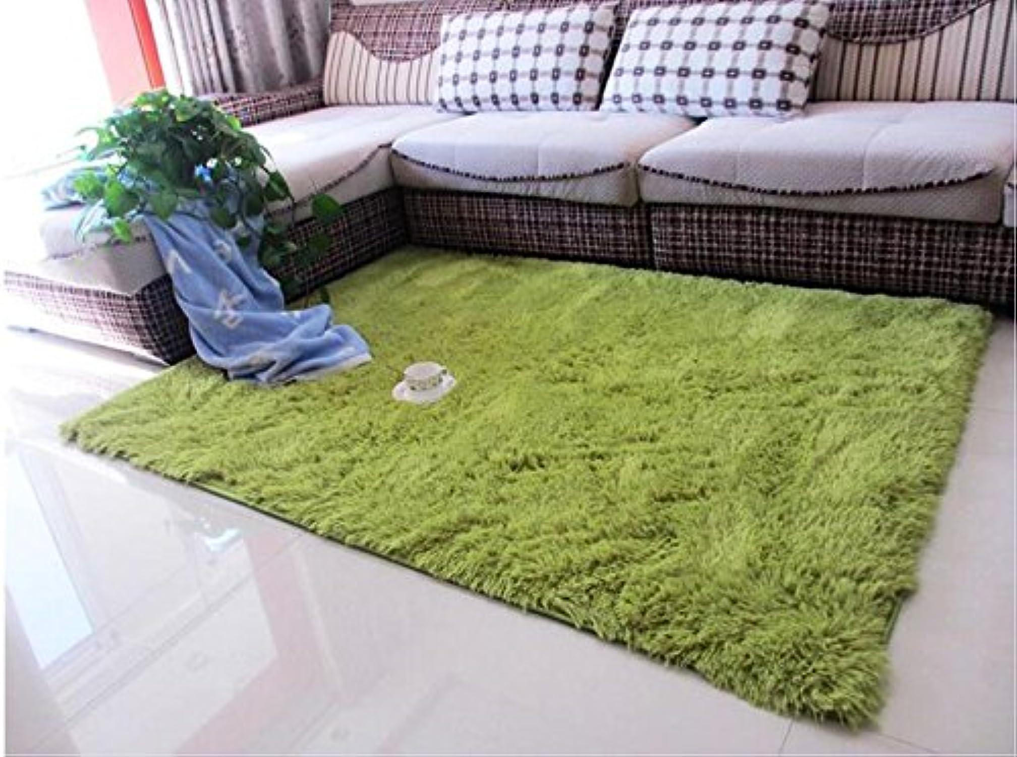 WYF-GZ Sala de la Mesa de café Alfombra, Alfombra, Dormitorio Full Bed Borde Manta, Alfombra de la habitación, alfombras de casa (Color   verde, Tamao   120×160CM)
