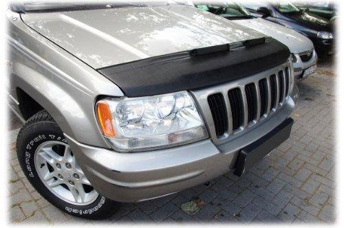 HOOD BRA PROTECTOR DEL CAPO Jeep Grand Cherokee 1999-2004 Bonnet Bra STONEGUARD PROTECTOR TUNING