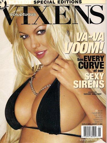 Playboy Voluptuous Vixens January 2005 Tiffany Holiday