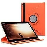 kwmobile Hülle kompatibel mit Huawei MediaPad M3 Lite 10-360° Tablet Schutzhülle Cover Hülle Koralle