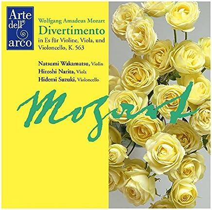モーツァルト : ディヴェルティメント (Wolfgang Amadeus Mozart : Divertimento in Es fur Violine, Viola, und Violonecello, K.563 / Natsumi Wakamatsu (Violin)   Hiroshi Narita (Viola)   Hidemi Suzuki (Violonecello))