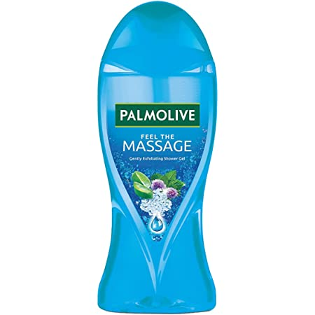 Palmolive Feel the Massage Body Wash, Exfoliating Shower Gel with 100% Natural Thermal Minerals, pH Balanced, No Parabens, No Silicones, 250ml Bottle