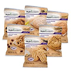 COOKIE VARIETY PACK includes 24 servings: Chocolate Chunk Cookies (4), Lemon Cooler Cookies (4), Oatmeal Raisin Cookies (4), Peanut Butter Cookies (4), Snickerdoodle Cookies (4) and Vanilla Shortbread Cookies (4) NUTRITIONALLY BALANCED bakery-style s...