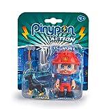 Pinypon Action - Figura Emergencia con Perro, Multicolor (Famosa...