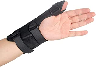 Finger Extension Hand Splint Medical Enhanced Thumb Fixed Sleeve Fixed Breathable Protective Wrist Cover