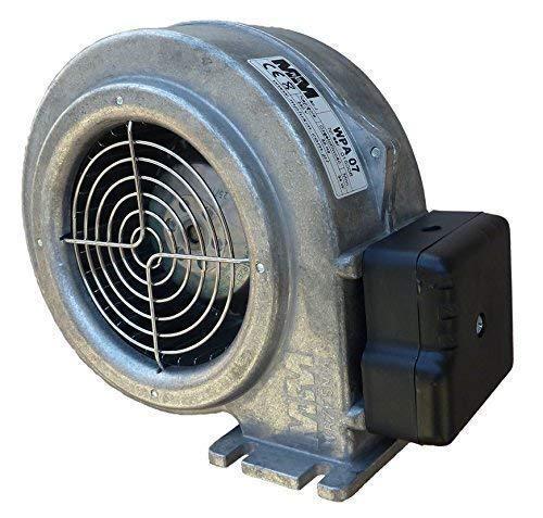 Druckgebläse WPA 07 Ofengebläse Holzvergaser Druckventilator mit EMB Papst Motor
