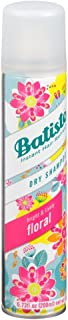 Batiste Shampoo Dry Floral 6.73 Ounce (200ml) (3 Pack)