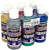 Best Acrylic Liquids - Sargent Art 22-6819 Liquid Metals 4 oz Metallic Review