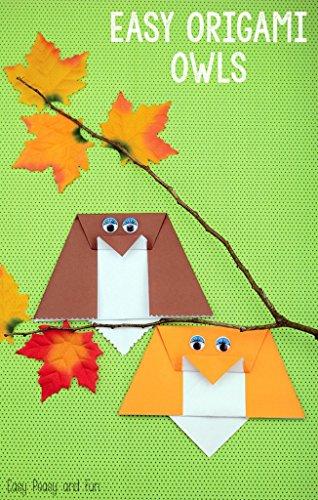 Easy Origami Owls DIY: Many, Easy DIY Origami Owls (English Edition)