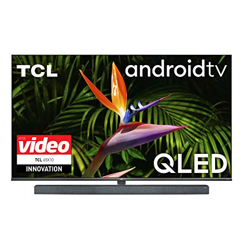 TCL TV QLED Ultra HD 4K 65' 65X10 Android TV UltraSlim