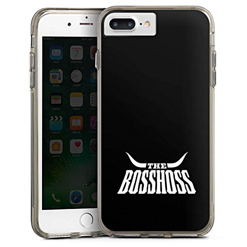 DeinDesign Apple iPhone 8 Plus Bumper Hülle Bumper Case Schutzhülle The BossHoss Fanartikel Merchandise