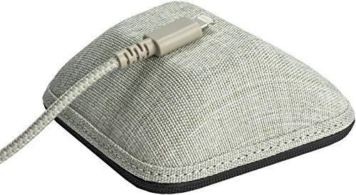 """Magnet Seide Kabel Manager€""""Magnet Boden Kabel Wrangler Kordel Organizer für Ihre Nachttisch Cable Wrangler Lightly Toasted Beige"""