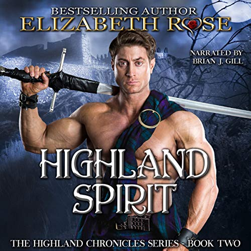 Highland Spirit audiobook cover art