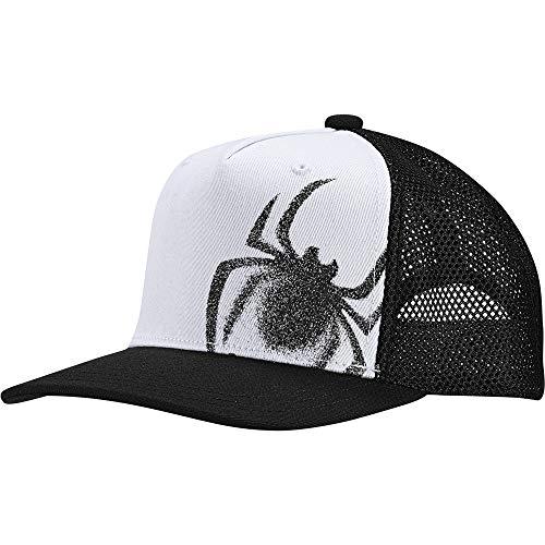 adidas Kids Boys Todller Child Hat Marvel Spider-Man Cap Fashion Logo White New (OSFC)