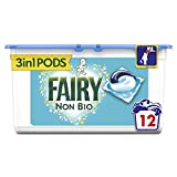 Fairy Non Bio Pods Washing Capsules for Sensitive Skin, 12 Washes