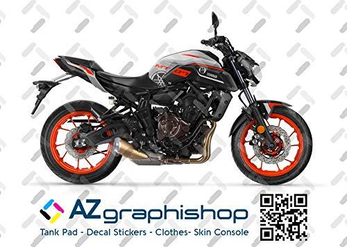Kit DE Pegatinas Motocicleta MT-07 2018-2020 FS-MT-07-2018-2