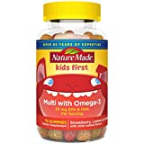 Best Gummy Multi Vitamin For Kids - Nature Made Kids First Multivitamin with Omega-3, Dietary Review