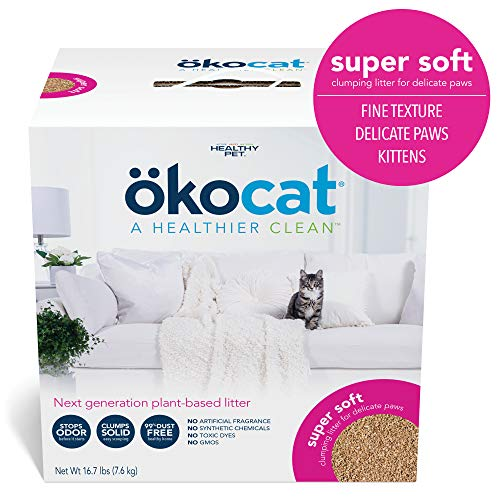 ökocat Super Soft Natural Wood Clumping Litter