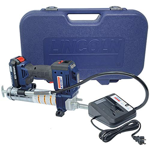Lincoln 1882 20V Li-Ion PowerLuber Single Battery Unit with Charger and Carrying Case