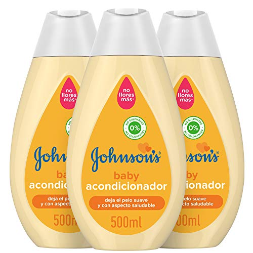 Johnson's Baby Acondicionador Familiar Clásico, 500 ml, Pack de 3